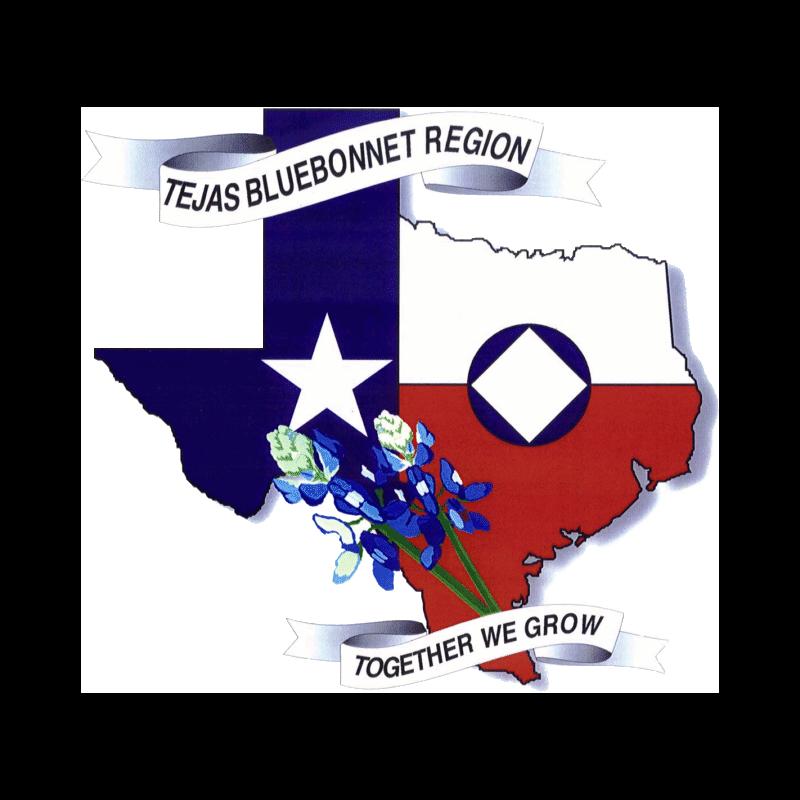 Tejas Bluebonnet Region logo